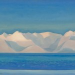 Rockwell Kent,Alaskan Sunrise,1919, oil, 28 x 44 inches