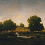 Theodore-Rousseau-Sovenir-du-Bois-dOncy-oil-on-panel