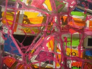 Caroline Sheridan, untitled, 3'x3'