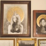 Liana Blum, untitleld, gelatin silver prints in found frames