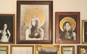 Liana Blum, untitleld, gelatin silver prints in found frames