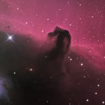 Martin Pugh, (Australia) IC434 in Orion (The Horsehead Nebula), Hahnemuhle Fine Art Photo Rag Bright White 310 paper, 13 x 19 inches