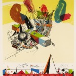 Robert S. Neuman, Ship to Pardise #4, 1980, lithograph, Courtesy of the Artist and Sunne Savage Gallery
