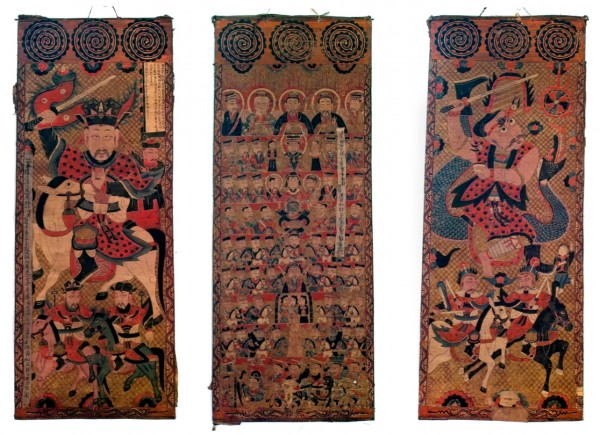 1 Yao Set of 3 Scrolls