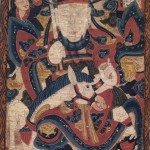 Yao, detail of the Scroll Painting of the High Constable, from a set of 17 Daoist Shaman Scroll Paintings, 1845