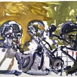 Romare Bearden, Brass Section, 1979, Lithograph, A/P Gift from the Jean and Robert Steele Collection