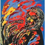 Curlee Raven Holton, Blues State of Mind, 2004, Serigraph, 2/10, Loan from the Jean and Robert Steele Collection