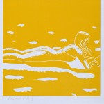 Alex Katz, Mary Jane, 1993, woodcut