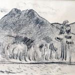 Marsden Hartley, Katahdin no. 4, ca 1940