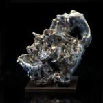 Marc Leuthold, Diana Boyce-Smith (Today We Live), 2012, platinum glazed porcelain