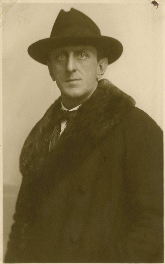 Unknown Photographer, Marsden Hartley, Berlin, 1922, Marsden Hartley Memorial Collection, Gift of Norma Berger, 1955.1.173.n