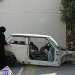 Sarah Abu Abdullah, Saudi Automobile, 2012, video, 10 minutes (still), Courtesy of the artist