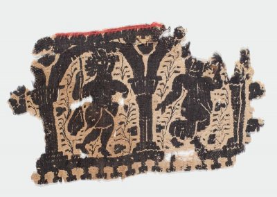 Coptic Textile Fragment, Marsden Hartley Memorial Collection