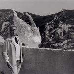 Lucien Clergue (French, b. 1934), Jean Cocteau and Sphinx, 1955, Photograph, 12 x 16 inches, Gift of Tim Grell & Family