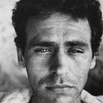Walker Evans, James Agee, 1937, Silver gelatin photograph mounted on board, 19 3/4 x 14 3/4 inches, Gift of Dr. and Mrs. Robert A. Johnson, Class of 1936
