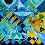 'Blue Moons & Menageries' at Bates