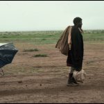 Peter Turnley, Somali Refugees, 1986, Archival Pigment Print, 20 x 24 inches, Bates College Museum of Art, Gift of the Olson Family