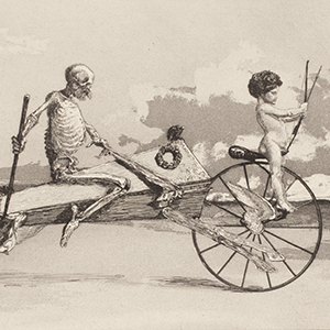 Max Klinger (German, 1857 – 1920), The Intermezzi Portfolio