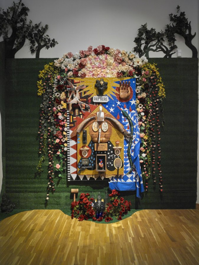 Vanessa German: Miracles and Glory Abound, Bates College Museum of Art, Lewiston, Maine