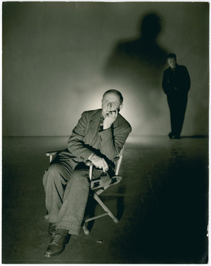 George Platt Lynes, Marsden Hartley, 1942, Bates College Museum of Art, Marsden Hartley Memorial Collection, Gift of Norma Berger, 1955.1.131.e