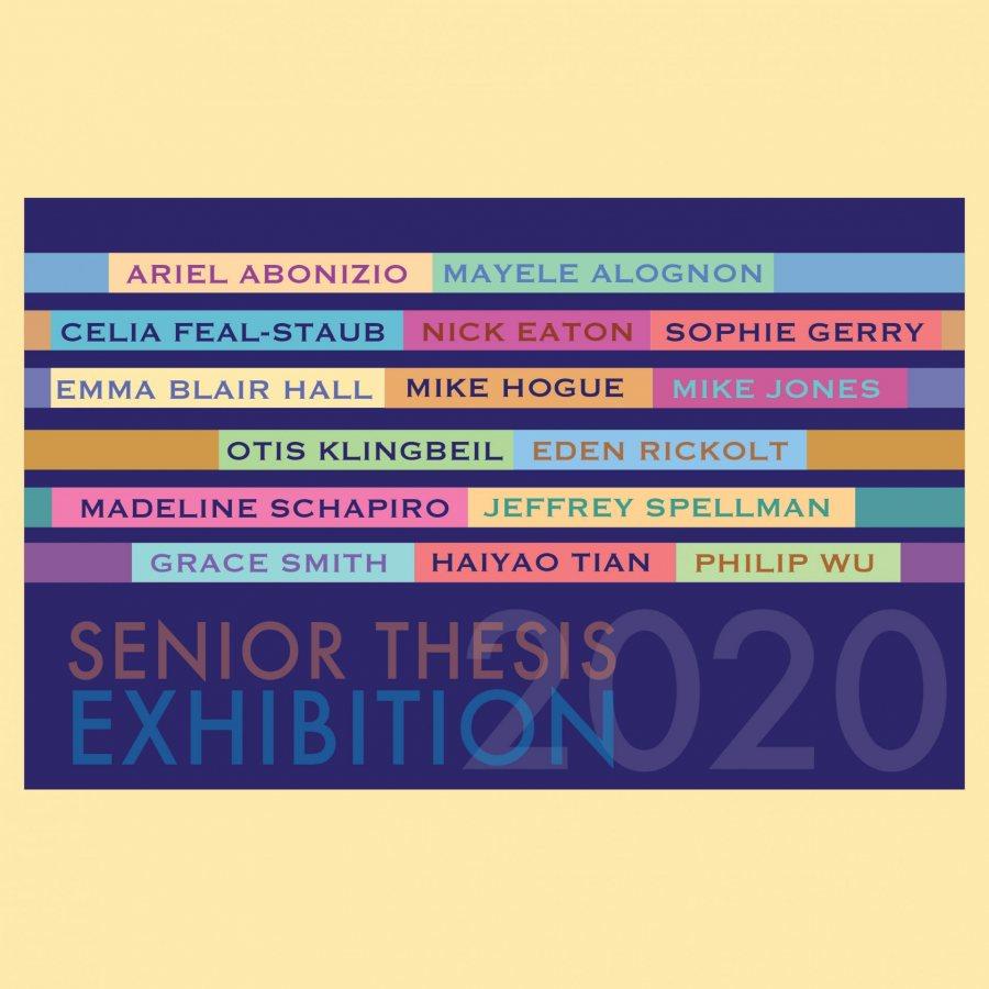 Senior Thesis Exhibition 2020