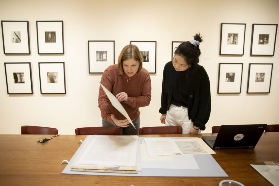 Olin Arts CenterThe museum's educational intern will learn how to maintain art. Will hopefully take place in the big room where the museum's thousands of items are kept