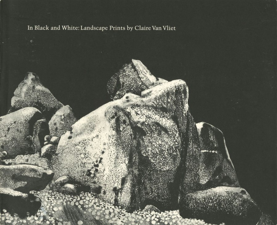 In Black and White: Landscape Prints by Claire Van Vliet