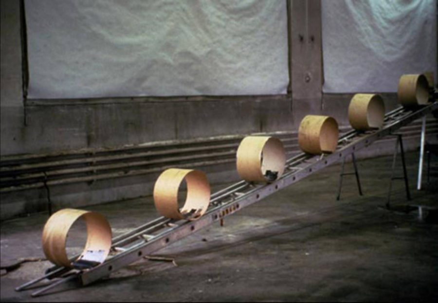 Peter Fischli and David Weiss, The Way Things Go, 1987, film still