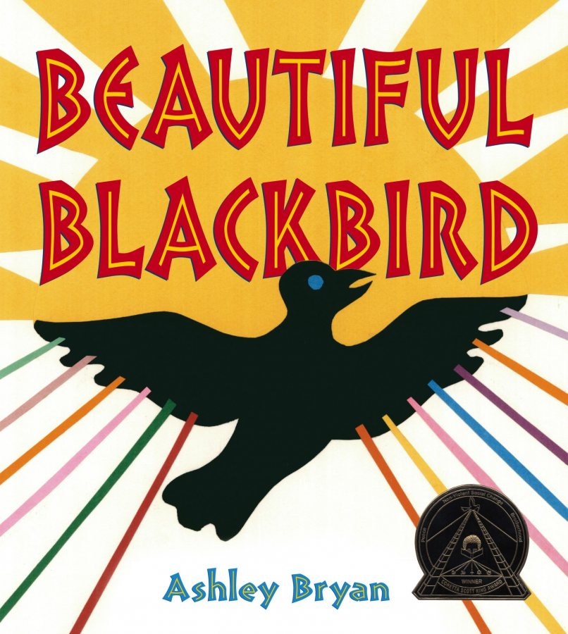 Beautiful Blackbird, By Ashley Bryan, Illustrated by Ashley Bryan, 2003, Atheneum Books for Young Readers