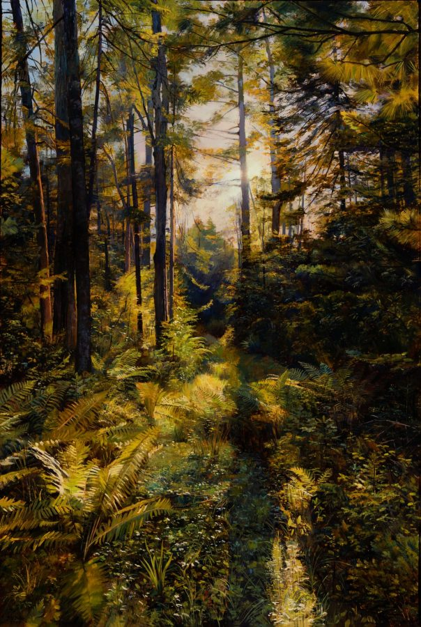 Joel Babb, Carl's Path, 2009, oil on canvas, 2020.1.1