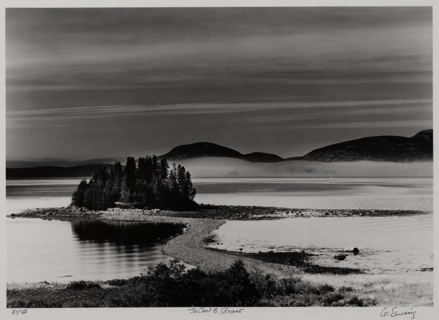 Gifford Ewing, Little Calf Island, Frenchman's Bay, Maine, n.d., silver gelatin selenium fiber print, ed. 21/50, 2020.1.14