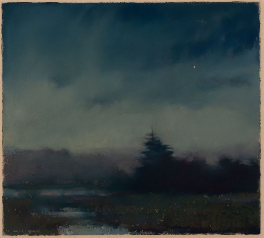 Kathleen Galligan, Quiet Time, 2005, pastel on paper, 2020.1.19