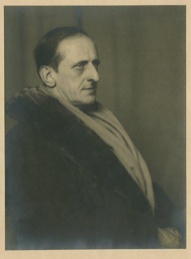 Man Ray, Marsden Hartley, 1925, Gelatin Silver print, Marsden Hartley Memorial Collection, Gift of Norma Berger, 1955.1.118