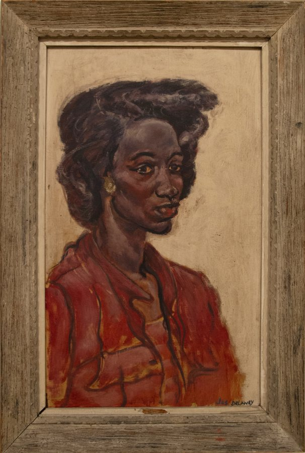 Joseph Delaney, Romaine, 1942, oil on board