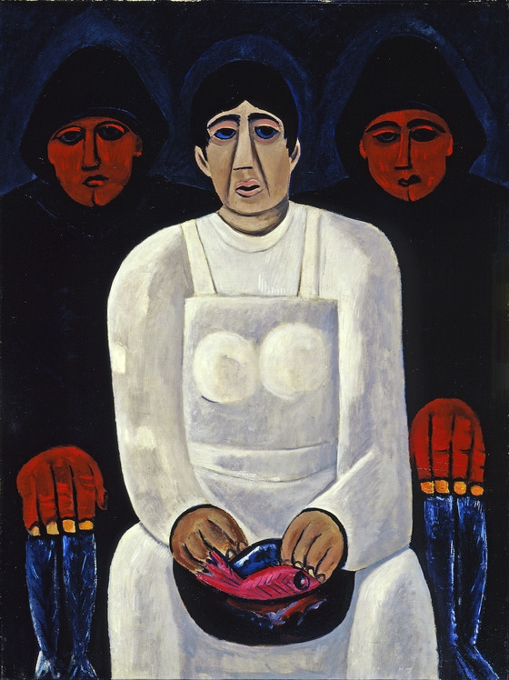 Marsden Hartley, The Lost Felice, ca. 1939-40, oil on canvas, 40 1/8 x 30 3/16 inches
