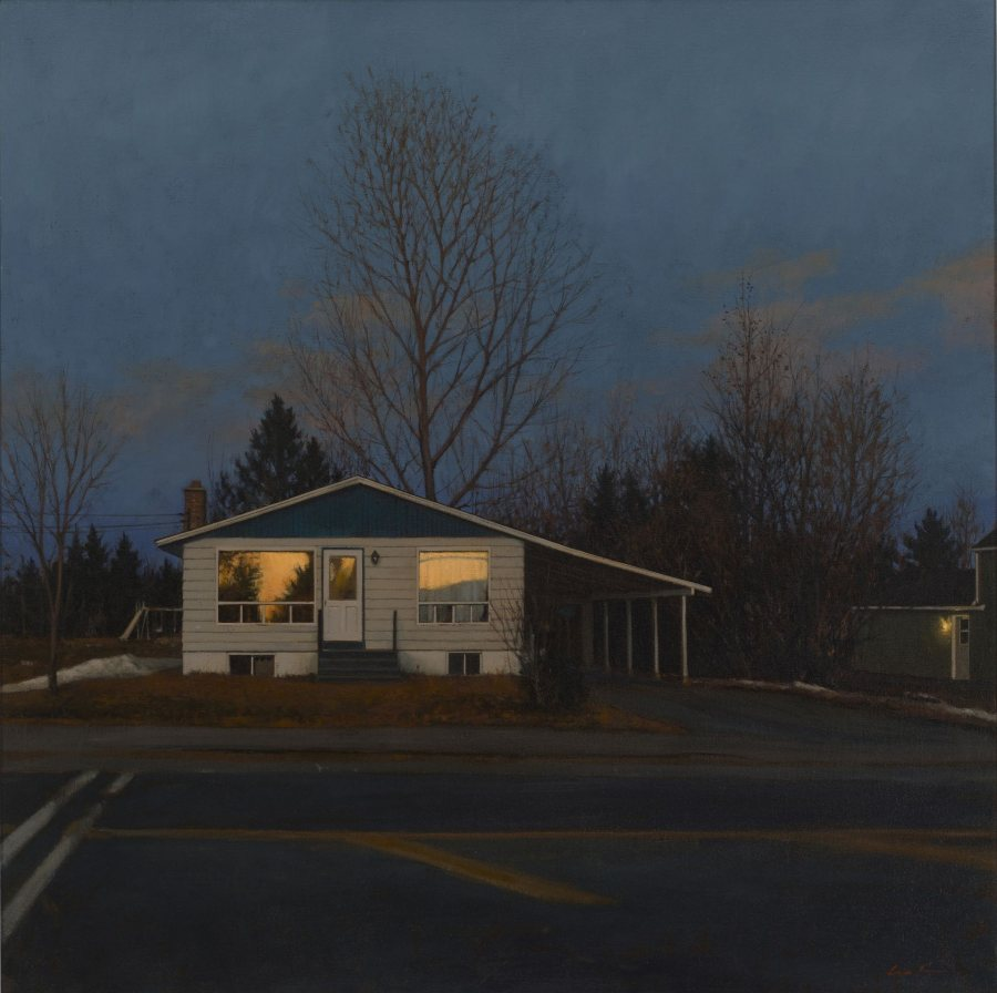 Linden Frederick, Carport, n.d., oil on canvas, 30 x 30 inches, 2019.4.47