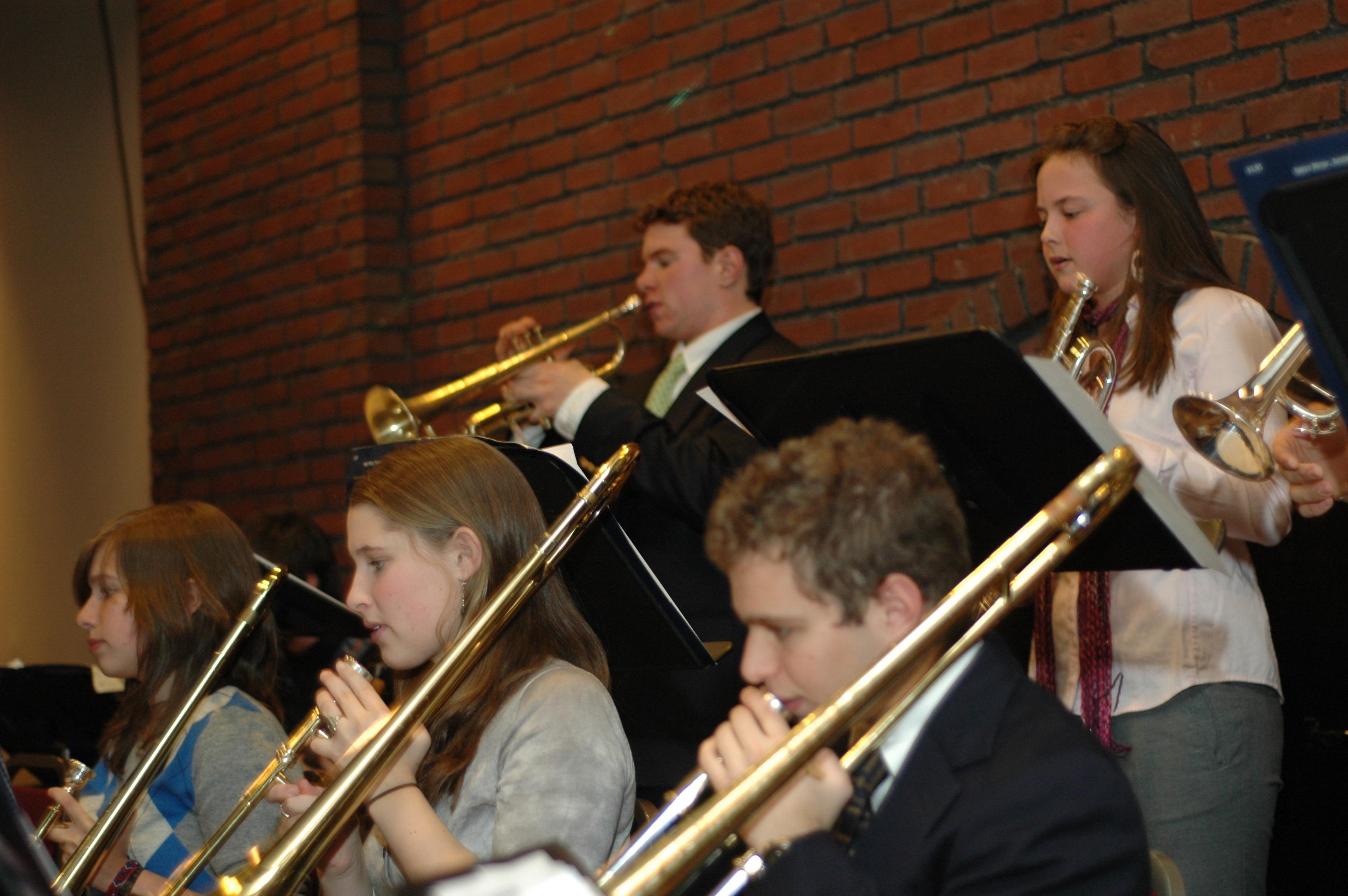 Bates Jazz Band @ Bates Olin Arts Center Concert Hall