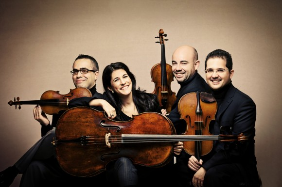 Olin Arts Alive Quartets Series Presents: CUARTETO QUIROGA @ Bates Olin Arts Center Concert Hall
