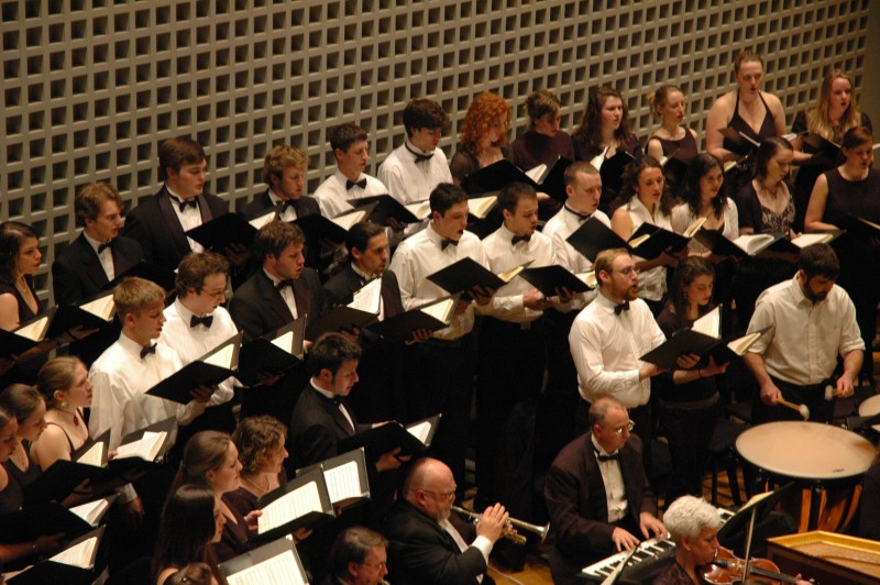 Bates Choir @ Bates Olin Arts Center Concert Hall