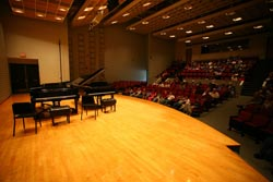 All Concerts will be held in the Olin Arts Center Concert Hall unless otherwise stated.