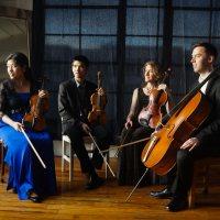 Momenta Quartet returns to Bates as Artist-in-Residence in Music for 2019-20