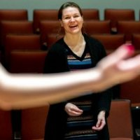 Q&A: 'WE'RE MADE TO COMMUNICATE WITH SONG,' SAYS JOËLLE MORRIS, NEW CHOIR DIRECTOR