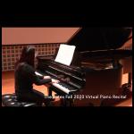 Bates Piano Recital Fall 2020 – Students of Chiharu Naruse
