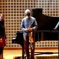 Dean Stein and Chiharu Naruse, Piano and Violin