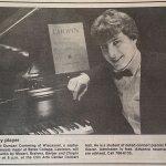 Bates Retro Night II: Duncan Cumming, solo piano in 1991