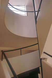 Villa Savoye Spiral Stair