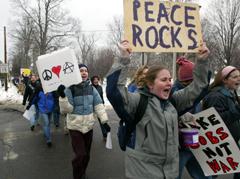 Protest in Lewiston