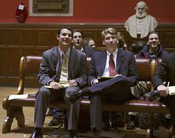 Bates debaters