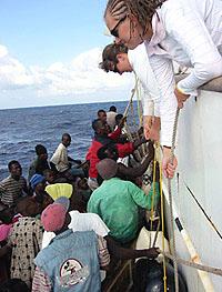 Haitians Boarding