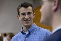 Biochemistry major Pat Cunningham '05